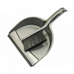 Faithfull Plastic Dust Pan & Brush