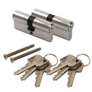 Eurospec 6 Pin Keyed-alike Profile Cylinder Pairs