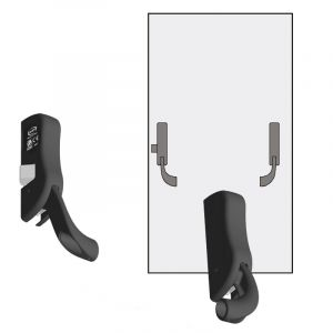 OMEC Emergency Exit Hardware - 1-point Centre Latch and Strike