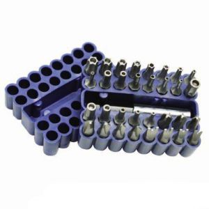 Silverline 33pce Screwdriver Bit Set | Security