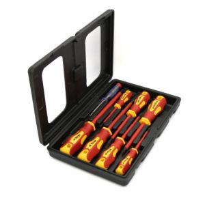 Hilka VDE Screwdriver Soft Grip 8 Piece Set
