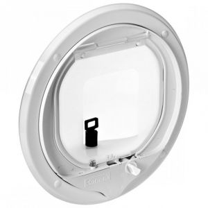 Pet-Tek Glass Fitting Multi Magnetic Cat Door - G-MCDW