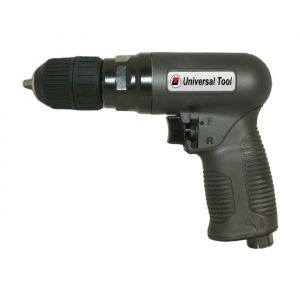 "UT Reversible 3/8"" Keyless Chuck Air Drill"