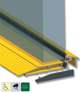 Stormguard Proline AM5EX Low Threshold Sill for Outward Opening Doors