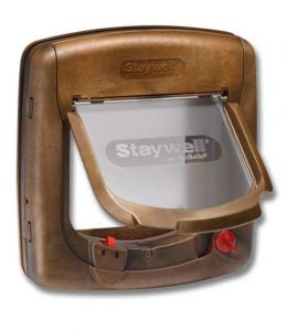Staywell 4-Way locking Magnetic Deluxe Pet Flap