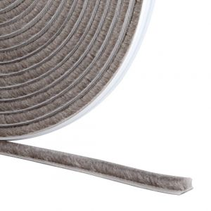Stormguard Brush Pile Self-Adhesive Draught Excluder Weather Seal