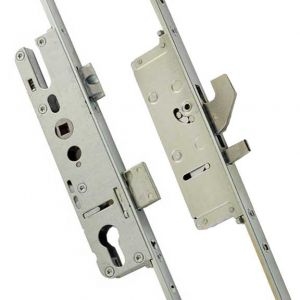 Yale Lockmaster - 2 Hook, 2 Anti-lift Pins, 2 Roller, 16mm Faceplate Bi-fold Door Locks