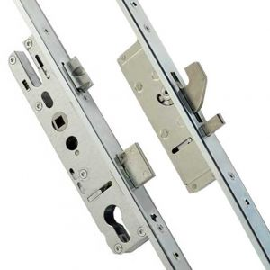 Yale LM28 - 2 Hook, 2 Anti-lift Pins, 24mm U-channel Bi-fold Door Locks