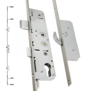 Avantis 550 Series French Door Lock - 2 Hook, 2 Roller