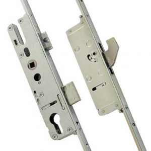 Yale Lockmaster - 2 Hook, 2 Roller, 16mm Faceplate Bi-fold Door Locks
