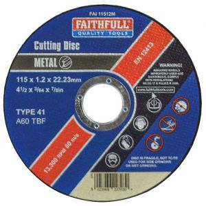 Faithfull Cutting Discs