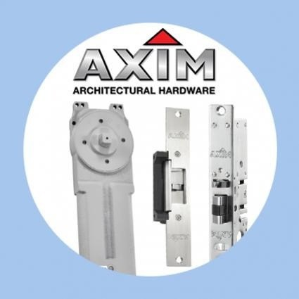 Hold-open overhead transom closers from Axim Hardware