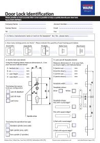 Door Lock Identification Guide
