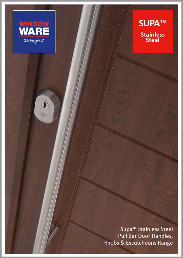 SUPA™ - Stainless Steel Pull Bar Range