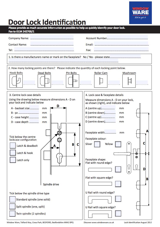 Door lock ID guide