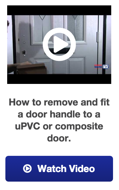 how to replace a upvc door handle