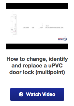 View our how to UPVC door lock video guide
